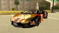 Lamborghini RR Kyoukai No Kanata Itasha