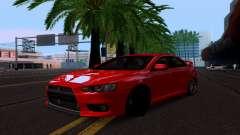 Mitsubishi Lancer Evo Drift Edition