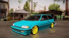 Honda Civic SI Hellaflush pour GTA San Andreas