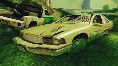 Buick Roadmaster cassé