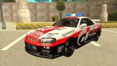 Nissan Skyline BNR34 GT4 Pace Car für GTA San Andreas