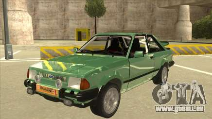 Ford Escort XR3 With Cosworth Spoiler pour GTA San Andreas