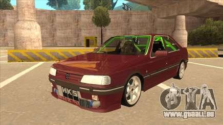 Peugeot 405 ami16 X4 pour GTA San Andreas
