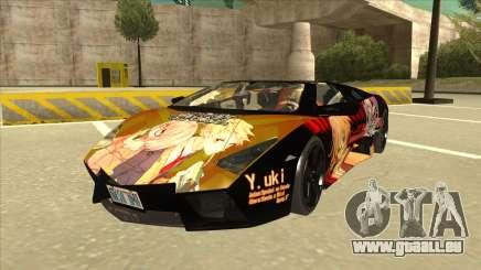 Lamborghini RR Kyoukai No Kanata Itasha für GTA San Andreas