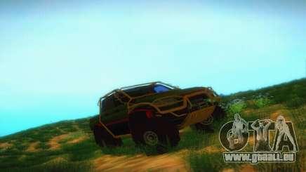 UAZ Patriot-Pickup für GTA San Andreas