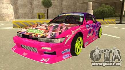 Nissan Silvia S13 Team Burst pour GTA San Andreas