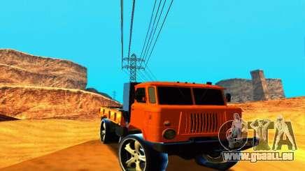 GAZ 66 Caucase pour GTA San Andreas