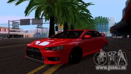 Mitsubishi Lancer Evo Drift Edition für GTA San Andreas