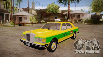 Rolls-Royce Silver Spirit 1990 Taxi pour GTA San Andreas