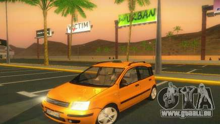 Fiat Panda Taxi für GTA San Andreas