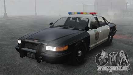 Eine Polizei-Kreuzer GTA V für GTA 4
