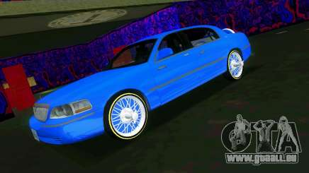 Lincoln Town Car Tuning pour GTA Vice City