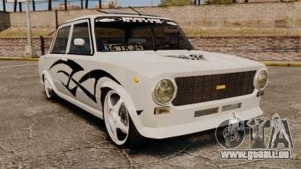 Fiat 124 Tuning für GTA 4