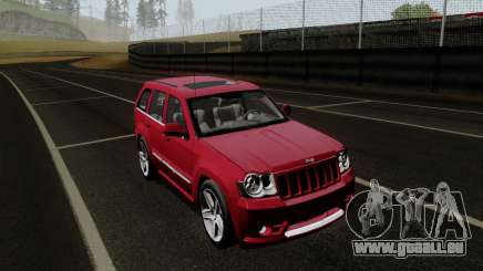 Jeep Grand Cherokee SRT10 pour GTA San Andreas