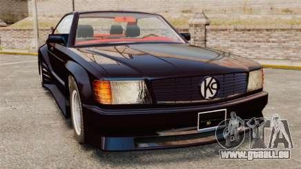 Mercedes-Benz C126 500SEC pour GTA 4