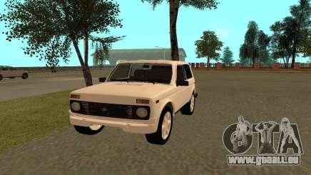 Der VAZ Niva 21213 für GTA San Andreas