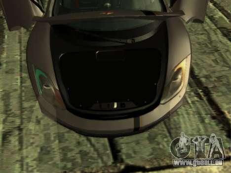 McLaren MP4-12C WheelsAndMore pour GTA San Andreas vue de dessous
