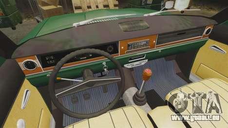 Volga gaz-24-02 pour GTA 4 est une vue de l'intérieur