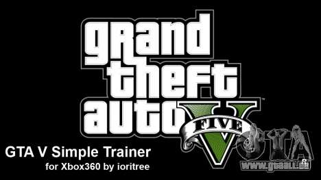 GTA 5 simple trainer by ioritree pour GTA 5