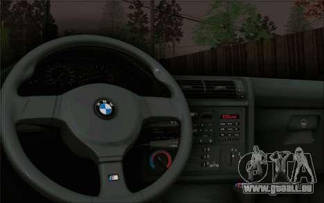 BMW M3 E30 Stance pour GTA San Andreas vue arrière