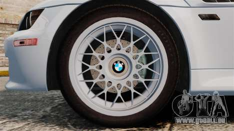 BMW Z3 Coupe 2002 für GTA 4 Rückansicht
