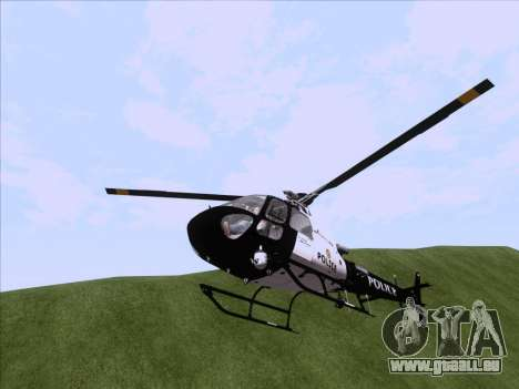 Police Maverick GTA 5 pour GTA San Andreas vue de droite