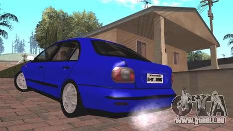 Fiat Marea Sedan für GTA San Andreas linke Ansicht