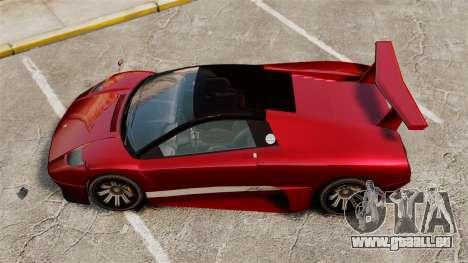Infernus supérieure pour GTA 4 Vue arrière de la gauche