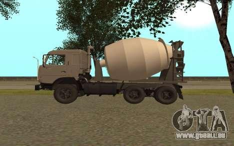 Camions KAMAZ 53115 pour GTA San Andreas laissé vue