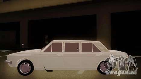 Paykan Limousine pour GTA San Andreas sur la vue arrière gauche