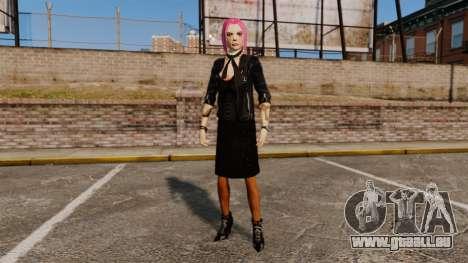 Zum Anziehen des Mädchens Nico für GTA 4 dritte Screenshot