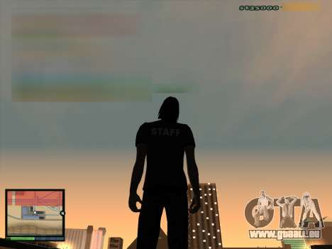 MFGTAVH V.2.0F pour GTA San Andreas deuxième écran