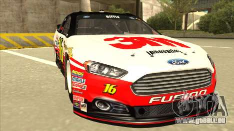 Ford Fusion NASCAR No. 16 3M Bondo für GTA San Andreas linke Ansicht