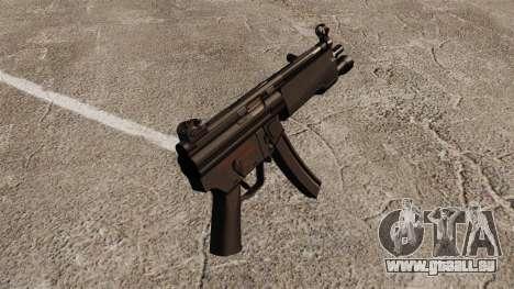 Pistolet mitrailleur HK MP5 pour GTA 4 secondes d'écran