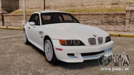 BMW Z3 Coupe 2002 pour GTA 4