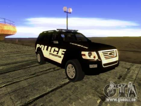 Ford Explorer 2010 Police Interceptor für GTA San Andreas