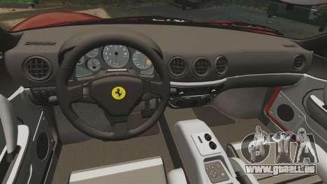 Ferrari 360 Spider 2000 [EPM] pour GTA 4 est un côté