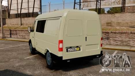 Gaz-2752 Sobol v1.1 pour GTA 4 Vue arrière de la gauche