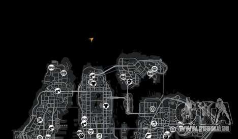 Endroit enneigé sanquer pour GTA 4 dixièmes d'écran