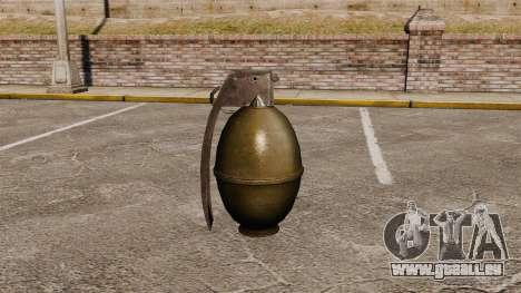 Granatapfel für GTA 4 Sekunden Bildschirm