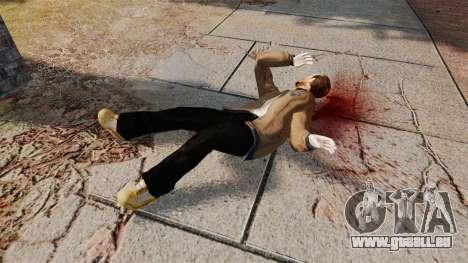 Sang et barres obliques pour GTA 4