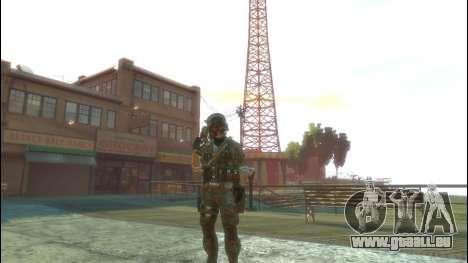 Un soldat russe v1.0 pour GTA 4
