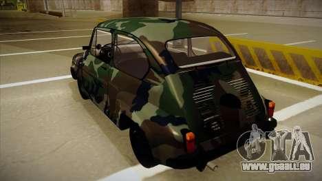 Zastava 750 Camo für GTA San Andreas rechten Ansicht