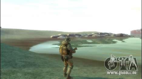 Un soldat russe v4.0 pour GTA 4 quatrième écran