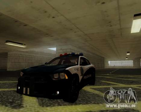 Dodge Charger 2012 Police IVF pour GTA San Andreas