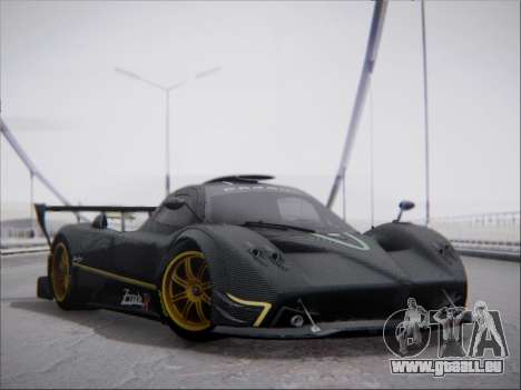 Pagani Zonda R pour GTA San Andreas