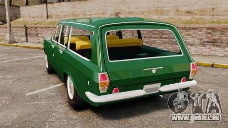 Volga gaz-24-02 pour GTA 4 Vue arrière de la gauche