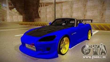 Honda S2000 C-West pour GTA San Andreas