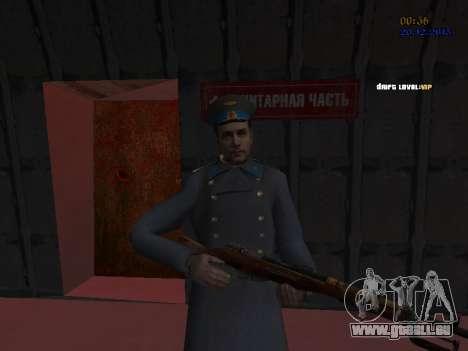 Colonel général de la force aérienne soviétique pour GTA San Andreas neuvième écran