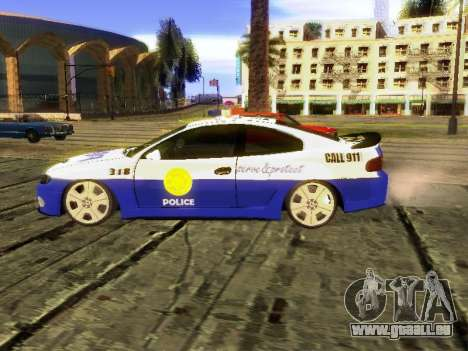 Pontiac GTO Pursit Edition pour GTA San Andreas laissé vue
